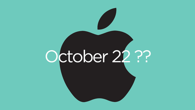 Report: Apple Is Holding an iPad Event October 22