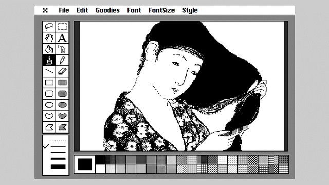 MacPaint In Your Browser Lets