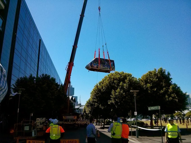 Here's How Google Installed a Monorail in Its Australian Offices