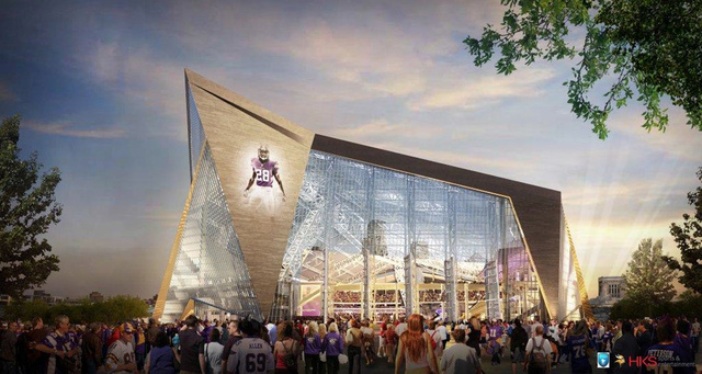 Vikings Decide They Need More Public Money For Their New Stadiu…