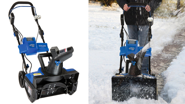 This Rechargeable Snow Blower