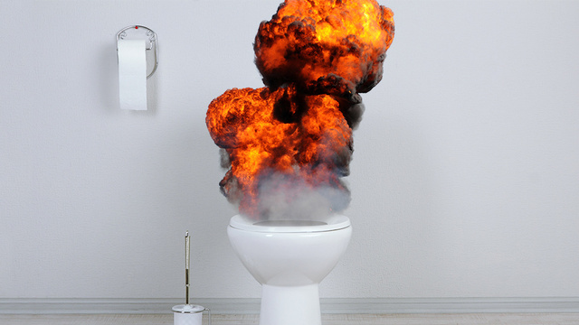 Exploding Toilet Sends Brooklyn Man to the Hospital