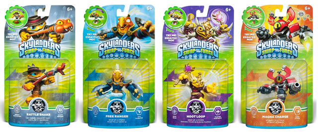 Skylanders Swap Force – Wave 1 Checklist Buyers Guide | The Irate