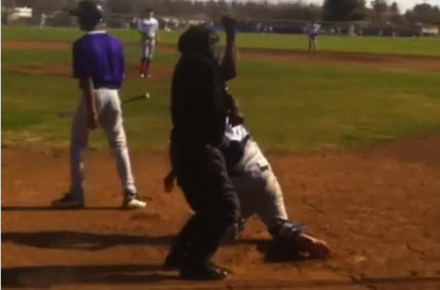 "This Umpire's Strike-Three Call Is ""Whoomp There It Is!"""