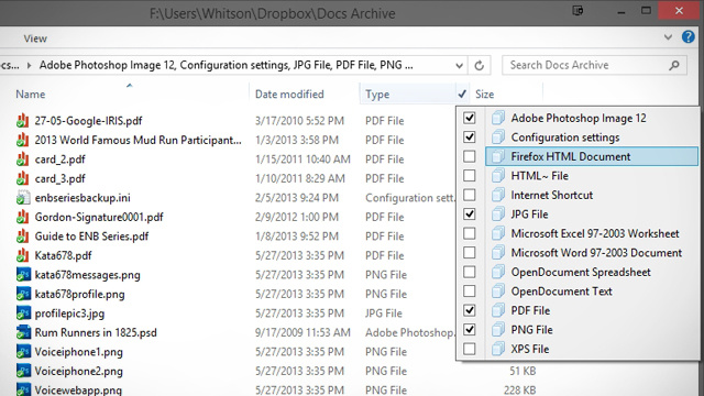 Get More Powerful Sorting Options in Windows Explorer