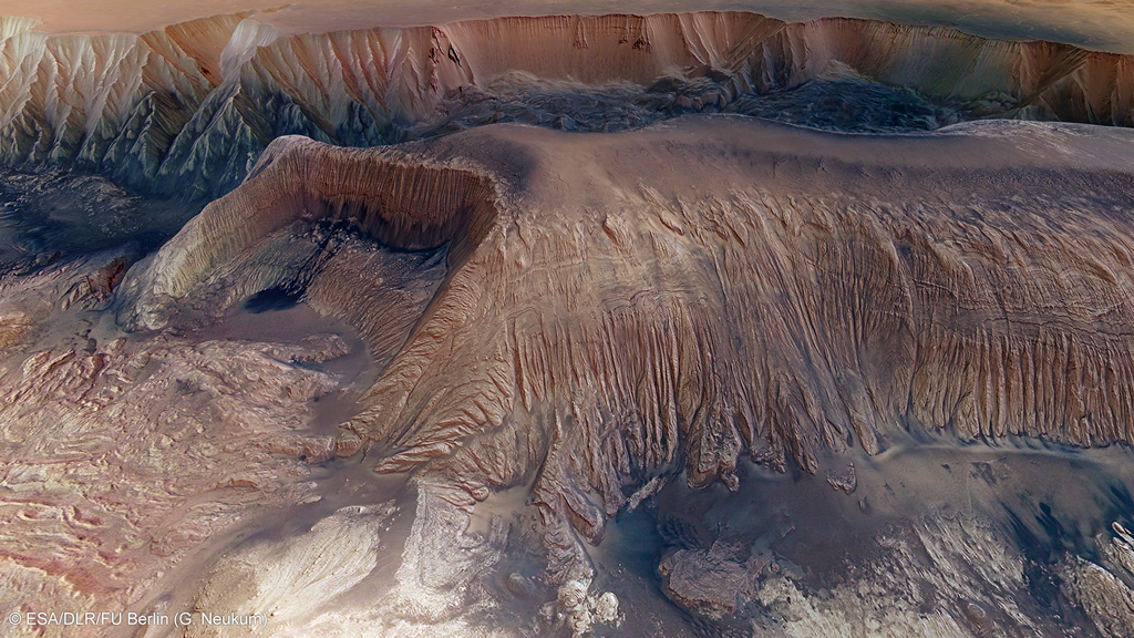 These Images Show the Brutal Scars on Mars's Surface