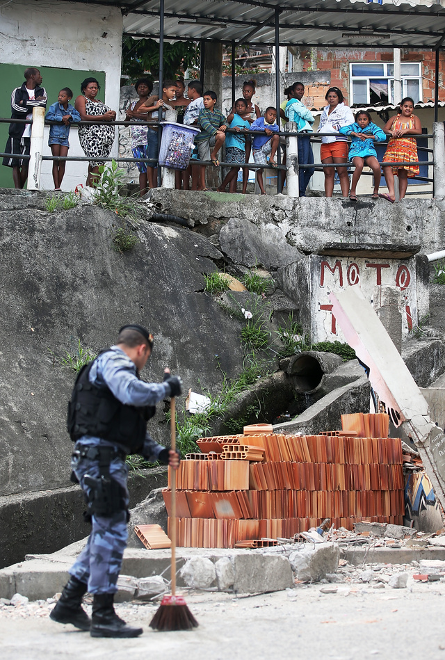 Make Way For the Olympics: The Paramilitary Clearance of Rio's Slums
