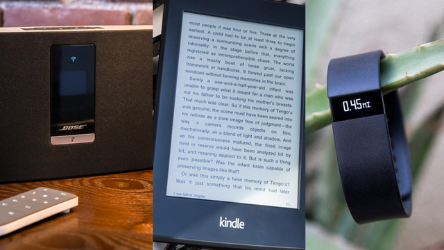 Now Available: New Kindle Paperwhite, Fitbit Force, SoundTouch, More