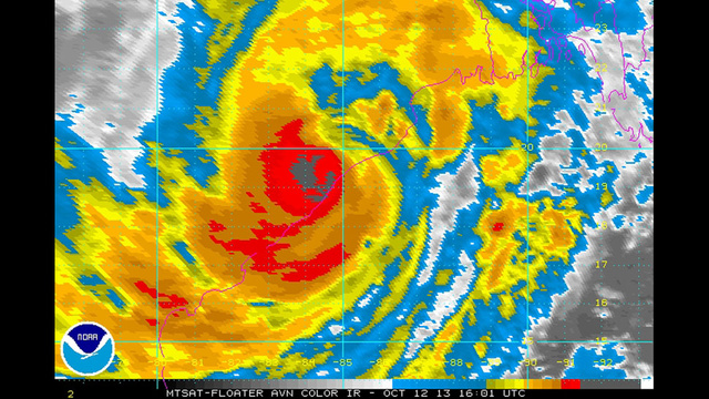 A Really Enormous Cyclone Is About To Hit India's Eastern Coast