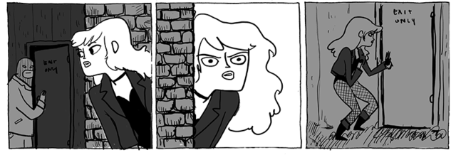 Kate Beaton reveals why Black Canary shouldn't go to concerts