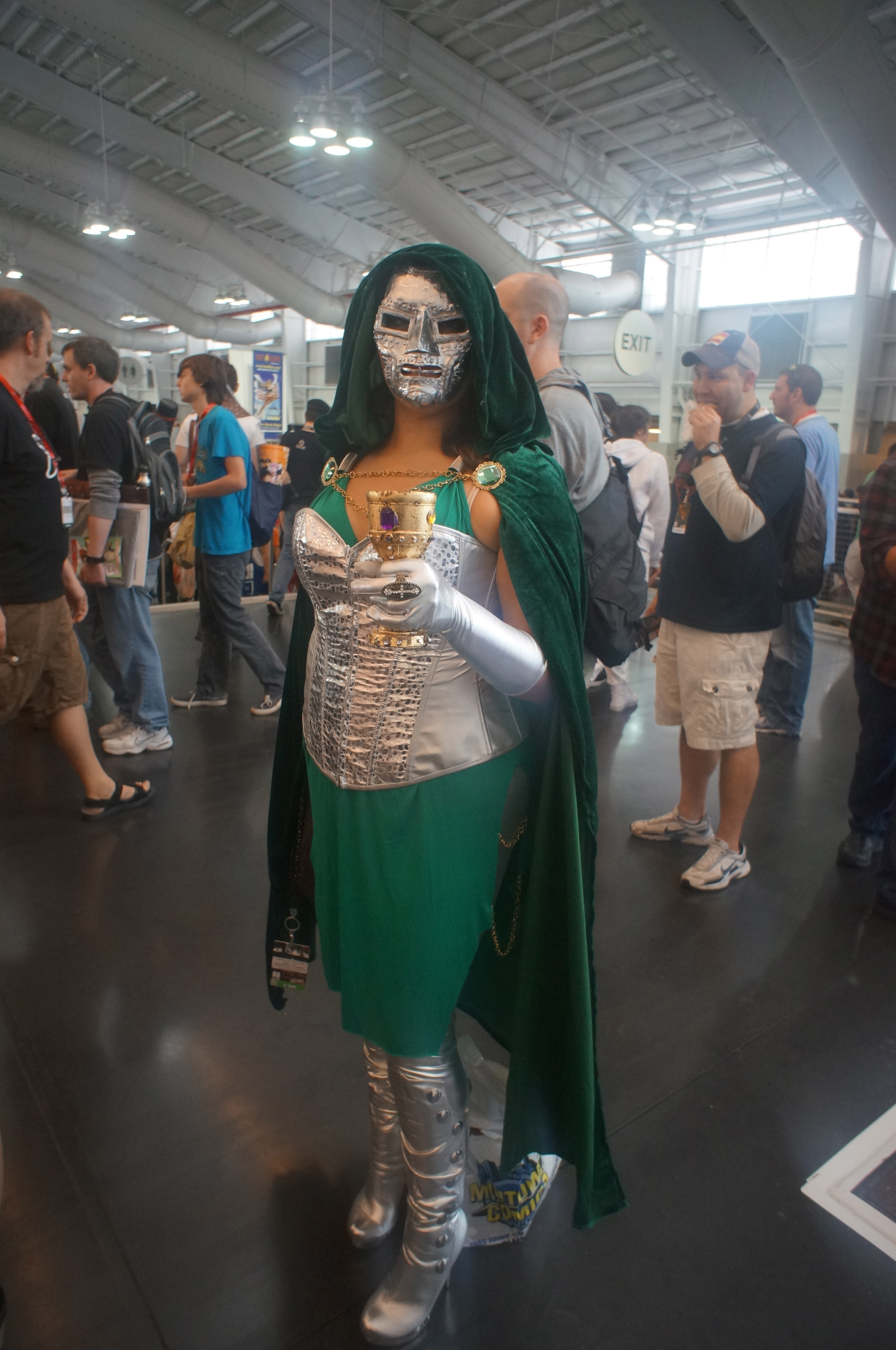 NYCC Cosplay: A Female Dr. Doom, A Male White Queen and Kick-Arse Korra