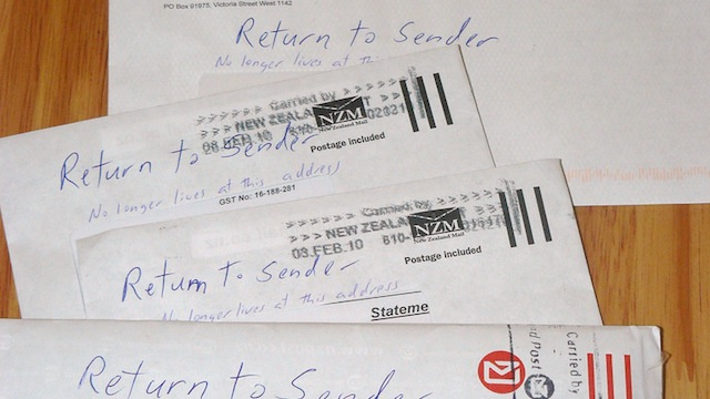 The your return address not return sender not this for How to send a shipping label to someone