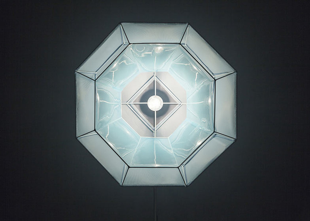 These Faceted Lamps Mimic the Molecular Structure of Crystals