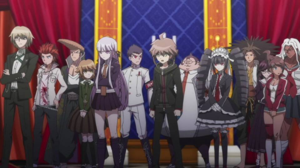 Danganronpa 3 Anime Characters : Danganronpa the animation makes a mess of great game