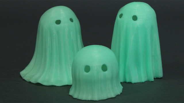 You Can Now 3D Print With This Spooky Glow-In-The-Dark Filament
