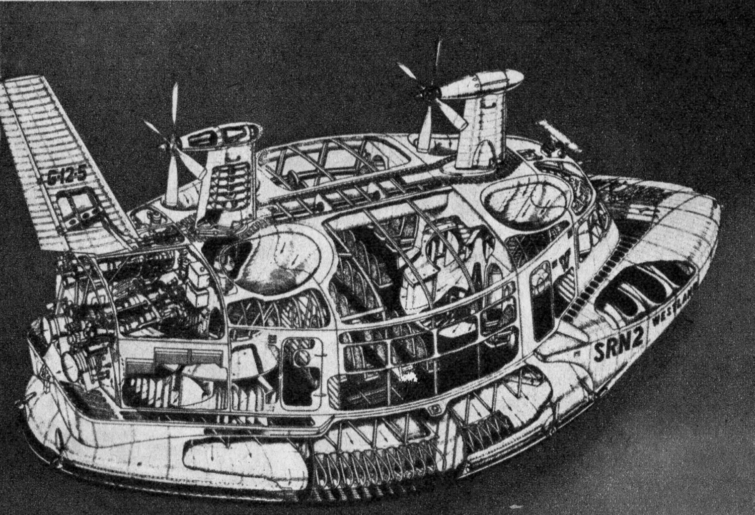 31 Levitating Vehicles From the Dawn of the Hovercraft