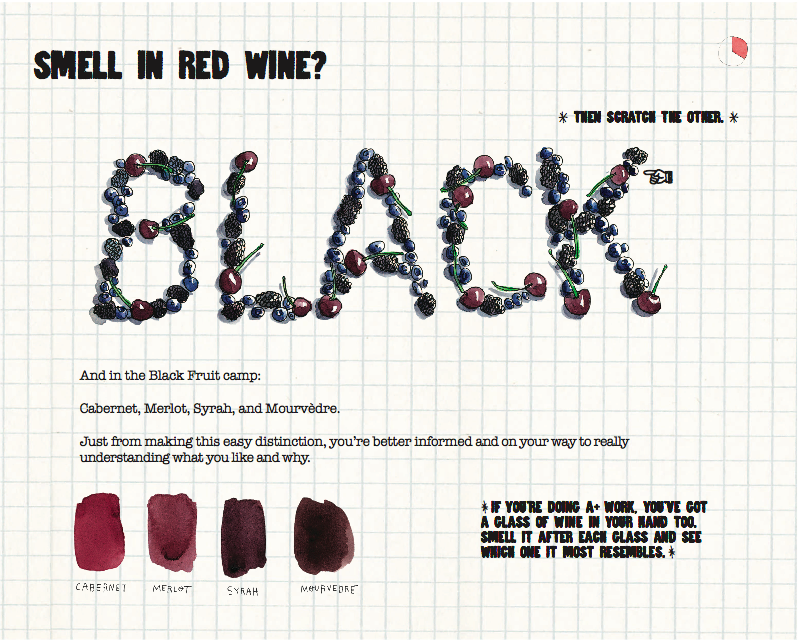 This Scratch-and-Sniff Wine Guide Will Make You an Unpretentious Expert