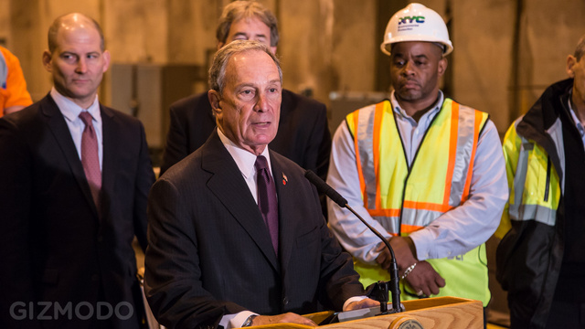 In An Artificial Cave 200' Beneath Central Park with Michael Bloomberg