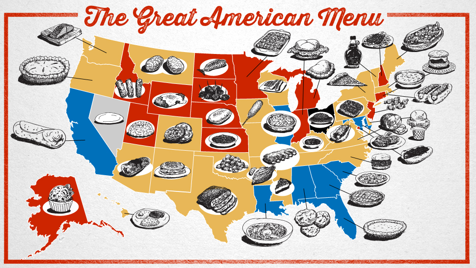 The great american menu foods of the states ranked and for American cuisine foods