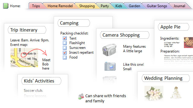 Seven tips and tricks to get more out of onenote for Onenote section template
