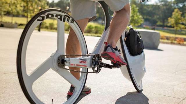 Would This Bike With Storage Inside the Front Wheel Even Be Rideable?
