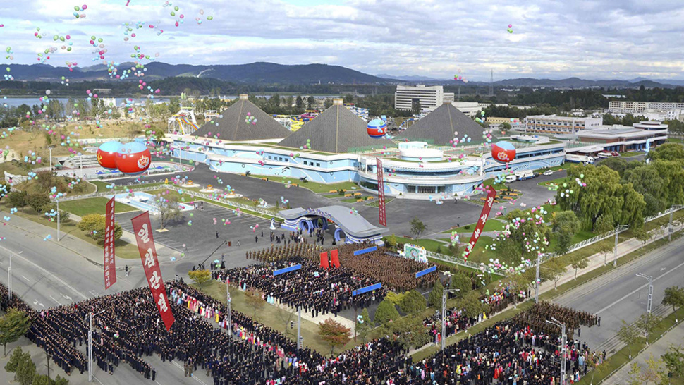 North Korea built a candy-colored dystopian water park