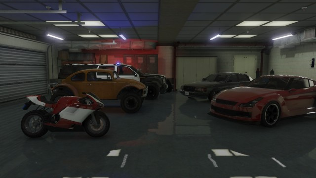 how to get a garage in gta 5
