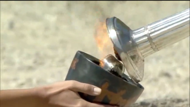 Why Is There 35mm Film Burning In the Olympic Torch?