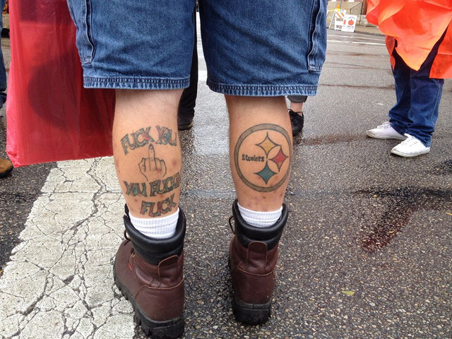 Steelers Tattoo Somehow Not Man's Most Obnoxious