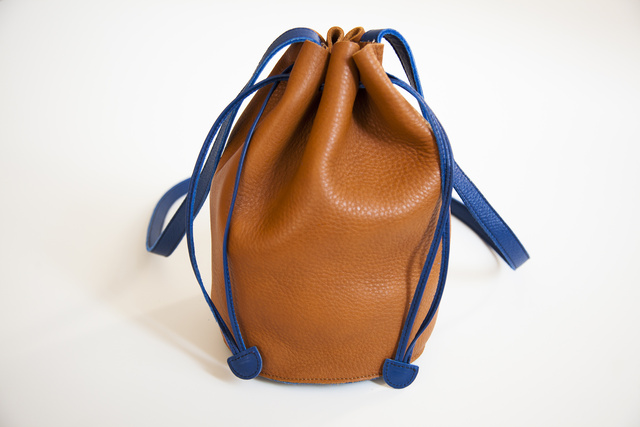 Get Your Hands on this Colorful Bucket Bag