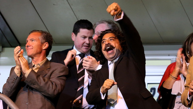 LONDON, OCT. 21: Shahid Khan, owner of Fulham F.C. and the Jack…
