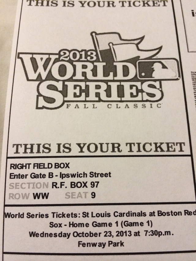 Man Buys Ticket To Game 1 Of World Series For $6 On StubHub