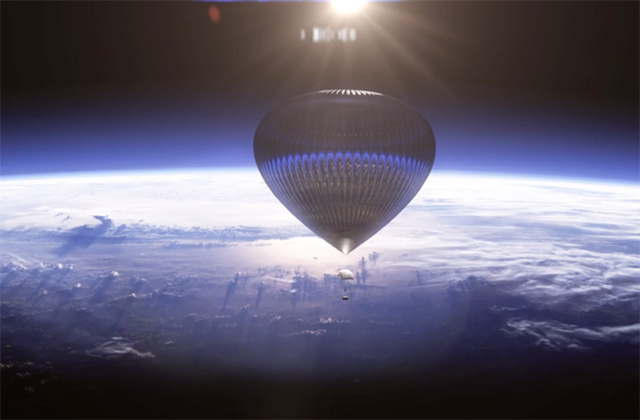 Would You Pay $75,000 to Ride This Spectacular Balloon to Space?