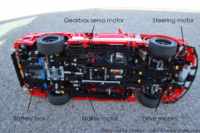 this amazing lego shelby mustang is more advanced than. Black Bedroom Furniture Sets. Home Design Ideas