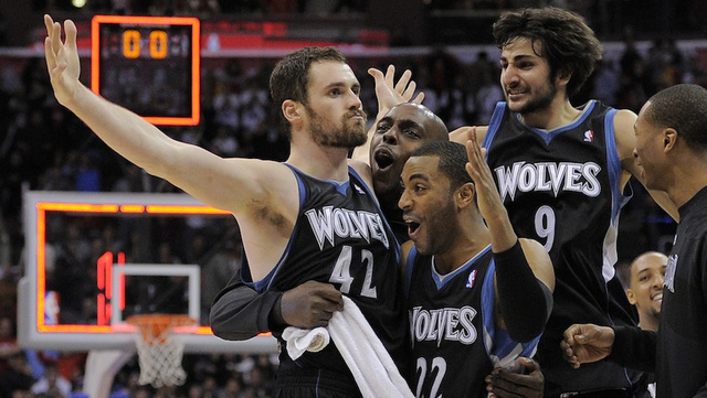 Kevin Love Wins White Guy Award From NBA Executives