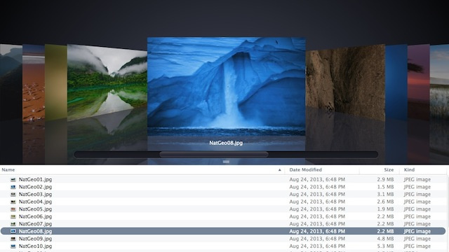 Uncover Mavericks' 43 Secret Wallpapers