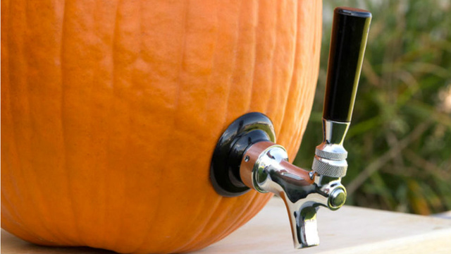 This Pumpkin Tap Turns Your Halloween Gourd Into an Edible Keg