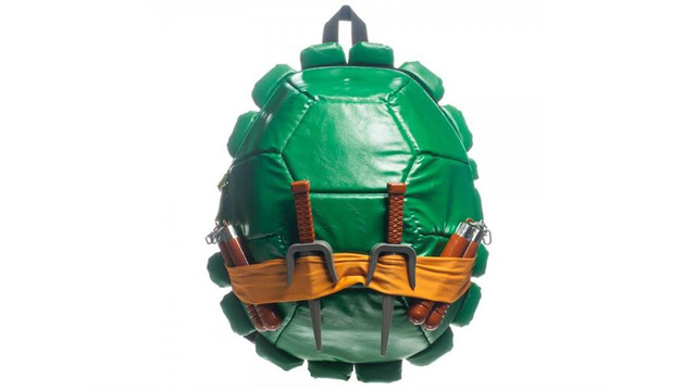 This Teenage Mutant Ninja Backpack Holds All of the Pizzas