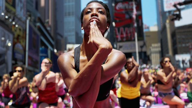 Yoga Isn't 'For Ladies' and Weights Aren't 'For Men'