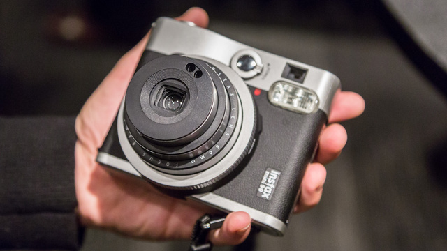 Fuji Instax Mini 90 Hands-on: A Glorious and Weird Instant Film Camera