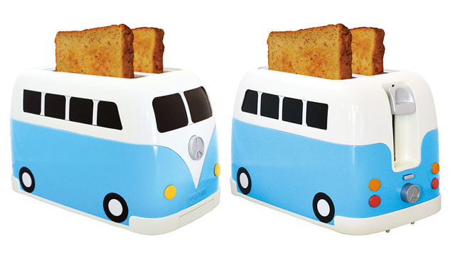 A Camper Van Toaster: Because Even Hippies Love Toast