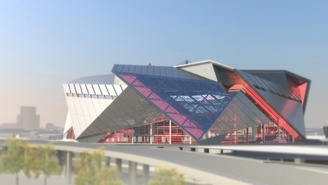 New Looks At The New Falcons Stadium