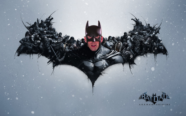 Kotaku 'Shop Contest: BatDad: Arkham Origins: The Winners