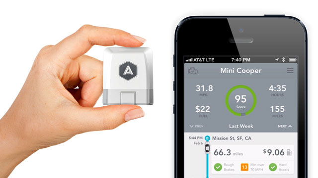 Automatic Tracks Your Driving and Your Car to Save You Money and Time