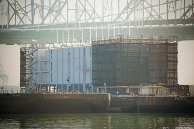 Is Google's Mysterious Barge Actually a Floating Glass Store?