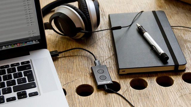 A Tiny Matchbook-Sized USB DAC Will Make Your Headphones Sound Sublime