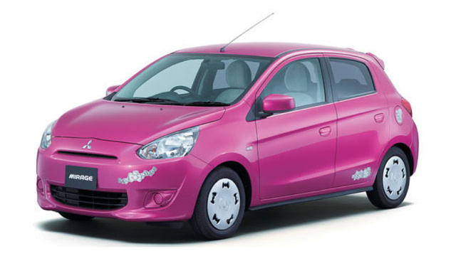Hello Kitty Edition Mitsubishi Mirage Is Pretty Damn Excellent