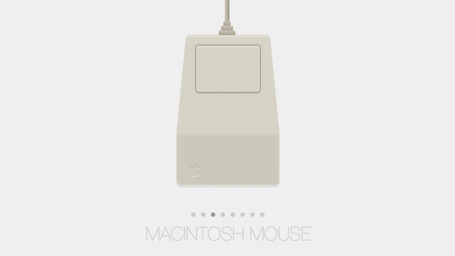 A History of the Apple Mouse Created Exclusively With CSS