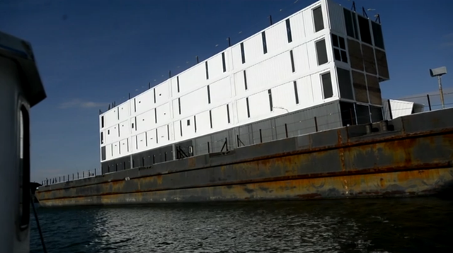 An Up Close Look at the East Coast Google Mystery Barge