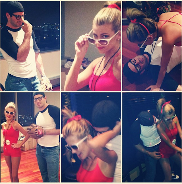 Samantha And Christian Ponder Dressed Up As The Sandlot Charact…
